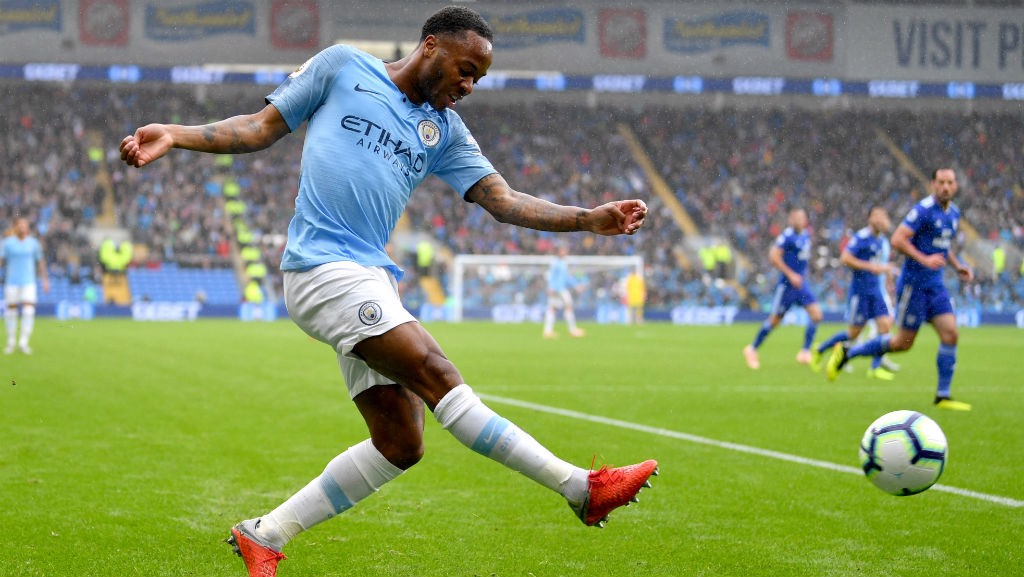 WING WIZARD : Raheem Sterling