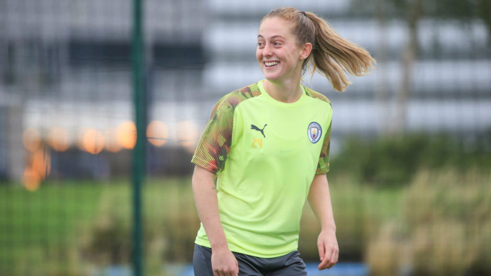 FOCUSED: Walsh says her City teammates must be prepared for the visit of Atletico