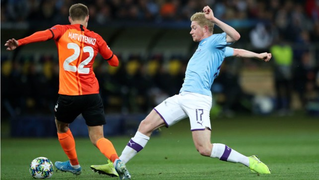 SPECIAL K : Kevin De Bruyne keeps the pressure up on Shakhtar