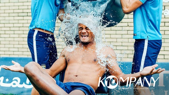 ICE BUCKET CHALLENGE: Splash!