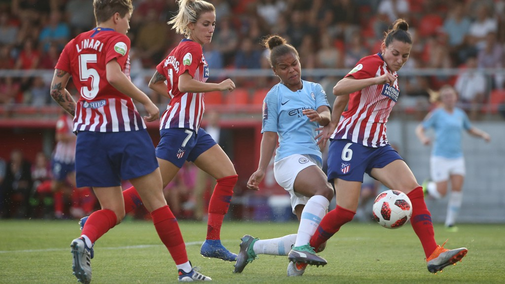 Bonner bags crucial away goal in Atleti draw