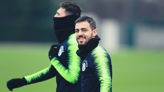 SMILES BETTER : No wonder Bernardo Silva looks happy after his heroics against Liverpool!