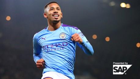 Gabriel Jesus: City career stats