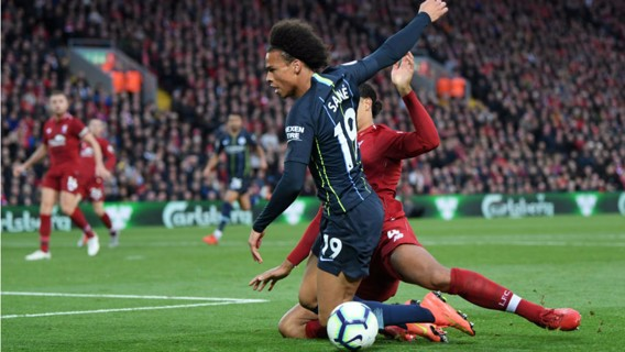 FLASHPOINT: Leroy Sane is brought down to earn City a late penalty