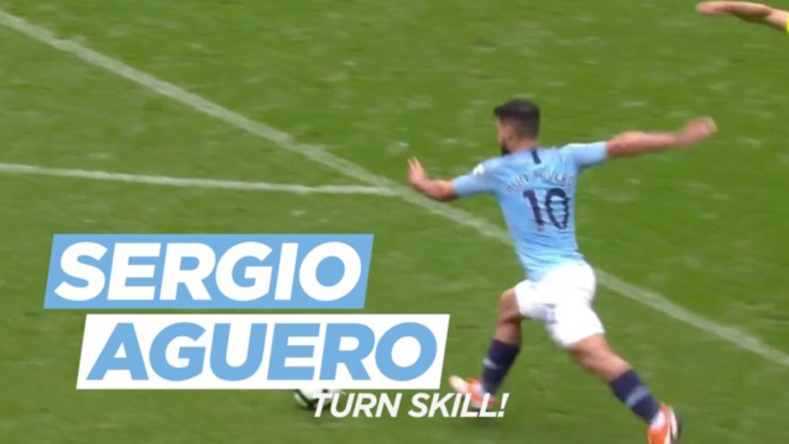 Daily challenges: Sergio Aguero Turn Skill!