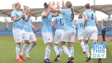 Ce jour là : City est né, et une victoire pleine de promesses pour l'équipe féminine