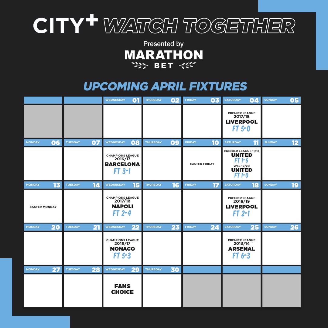 City+ Watch Ensemble : Revivez des moments magiques !