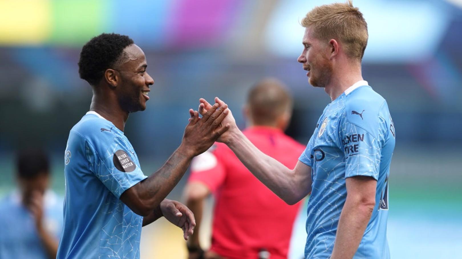 De Bruyne et Sterling nominés pour le PFA Player of the Year award