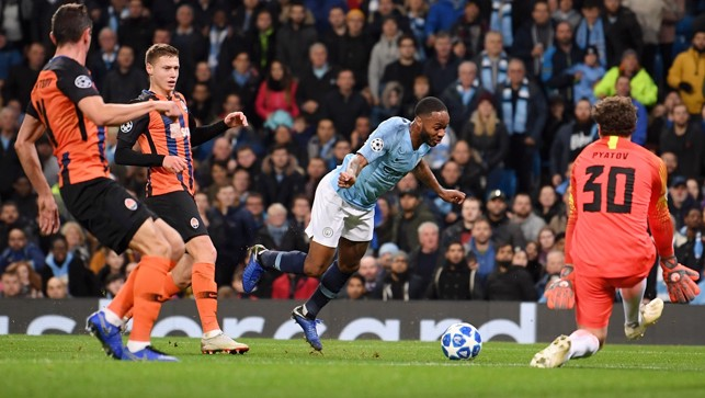AIR SHOT : Raheem kicks the ground running!