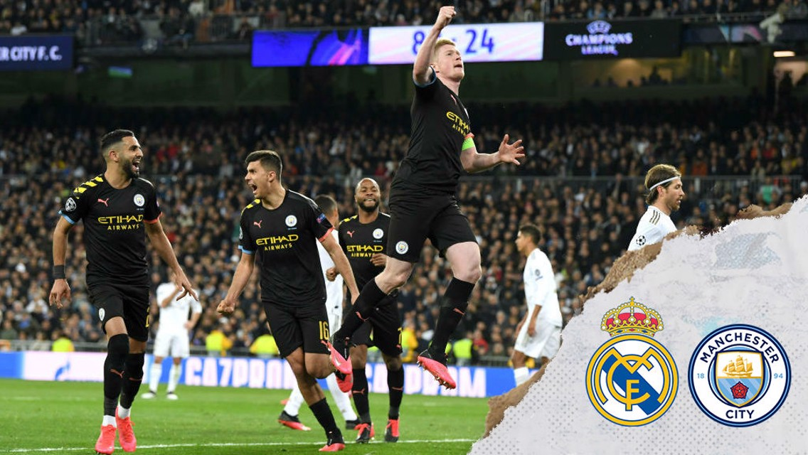 Real Madrid 1-2 City: Brief highlights