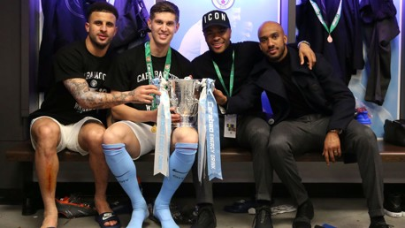NATIONS LEAGUE: Four City stars featured in England's win.