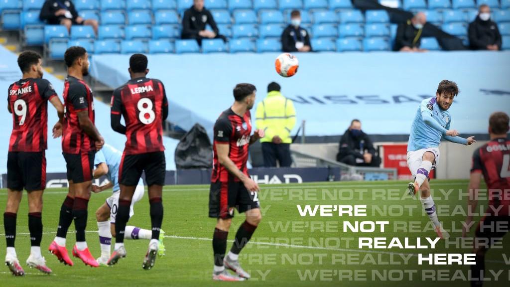 PRESENTE. : David Silva marcó el primer gol y asistió en el segundo.