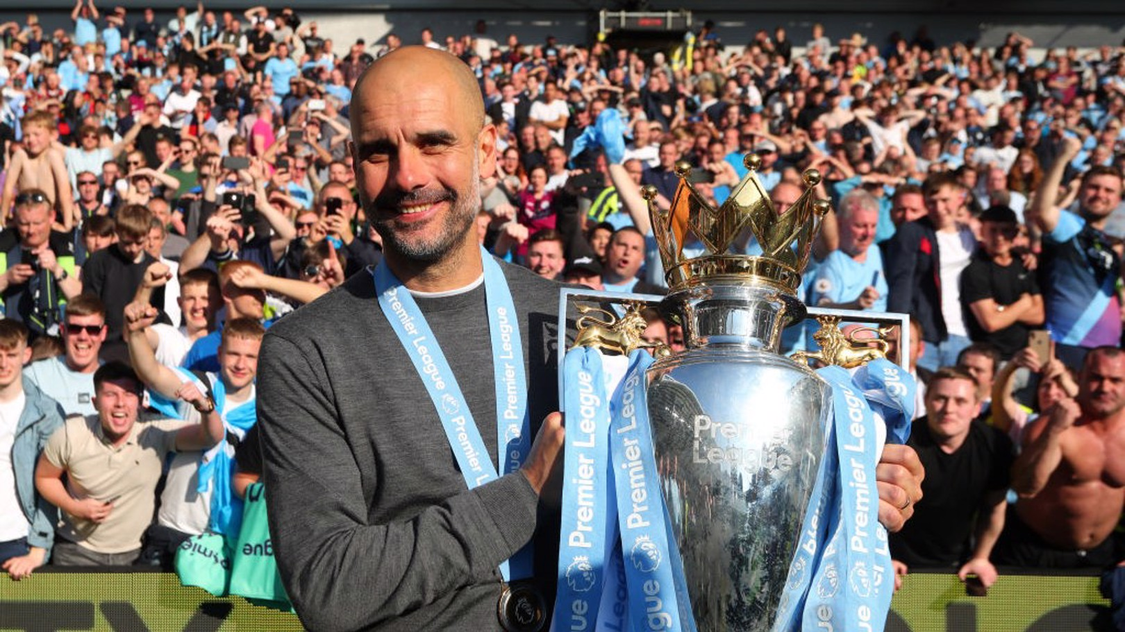 RECOGNITION: Pep Guardiola has been inducted into the LMA Hall of Fame.