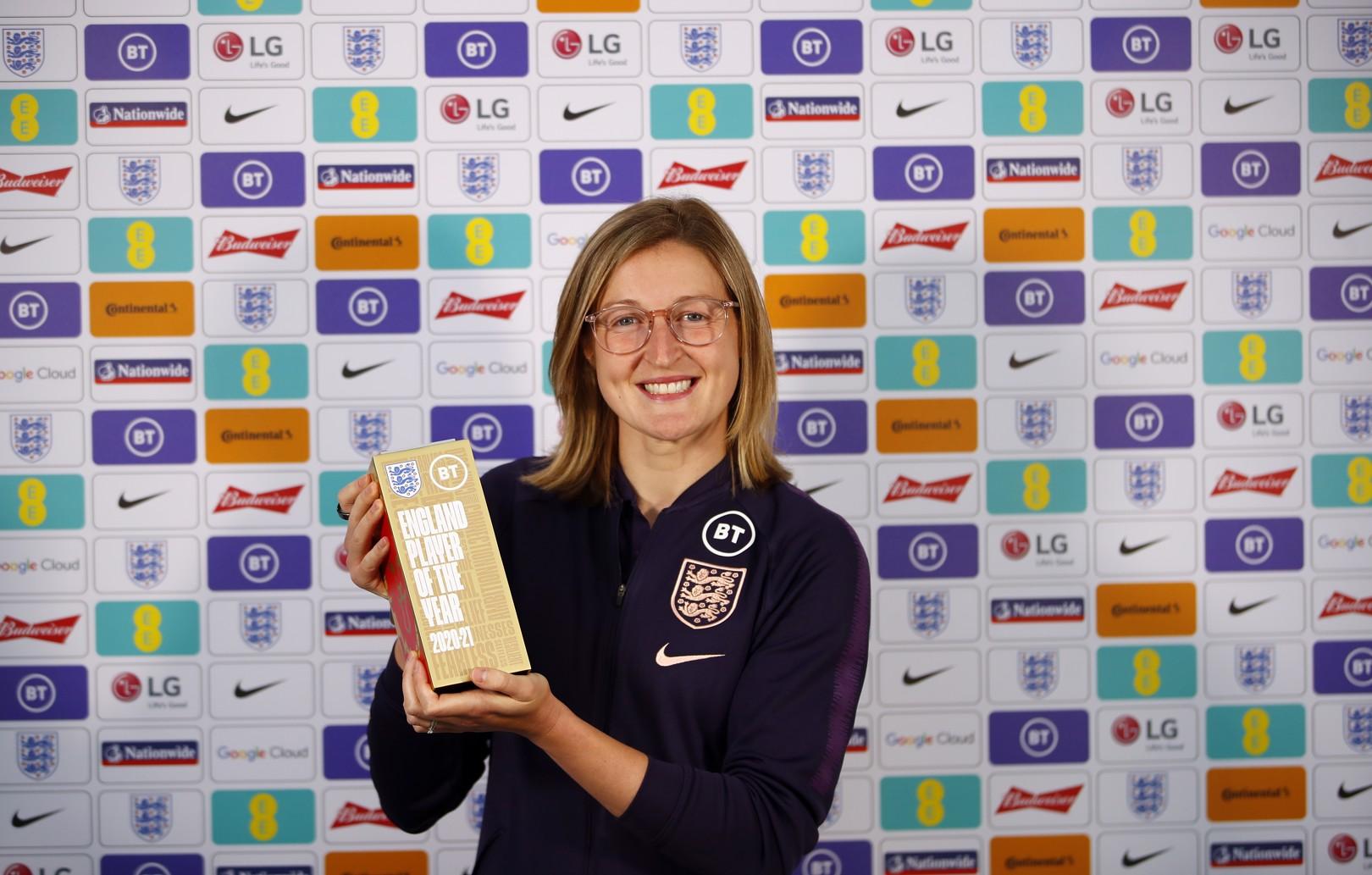 Ellen White voted BT England Women's Player of the Year