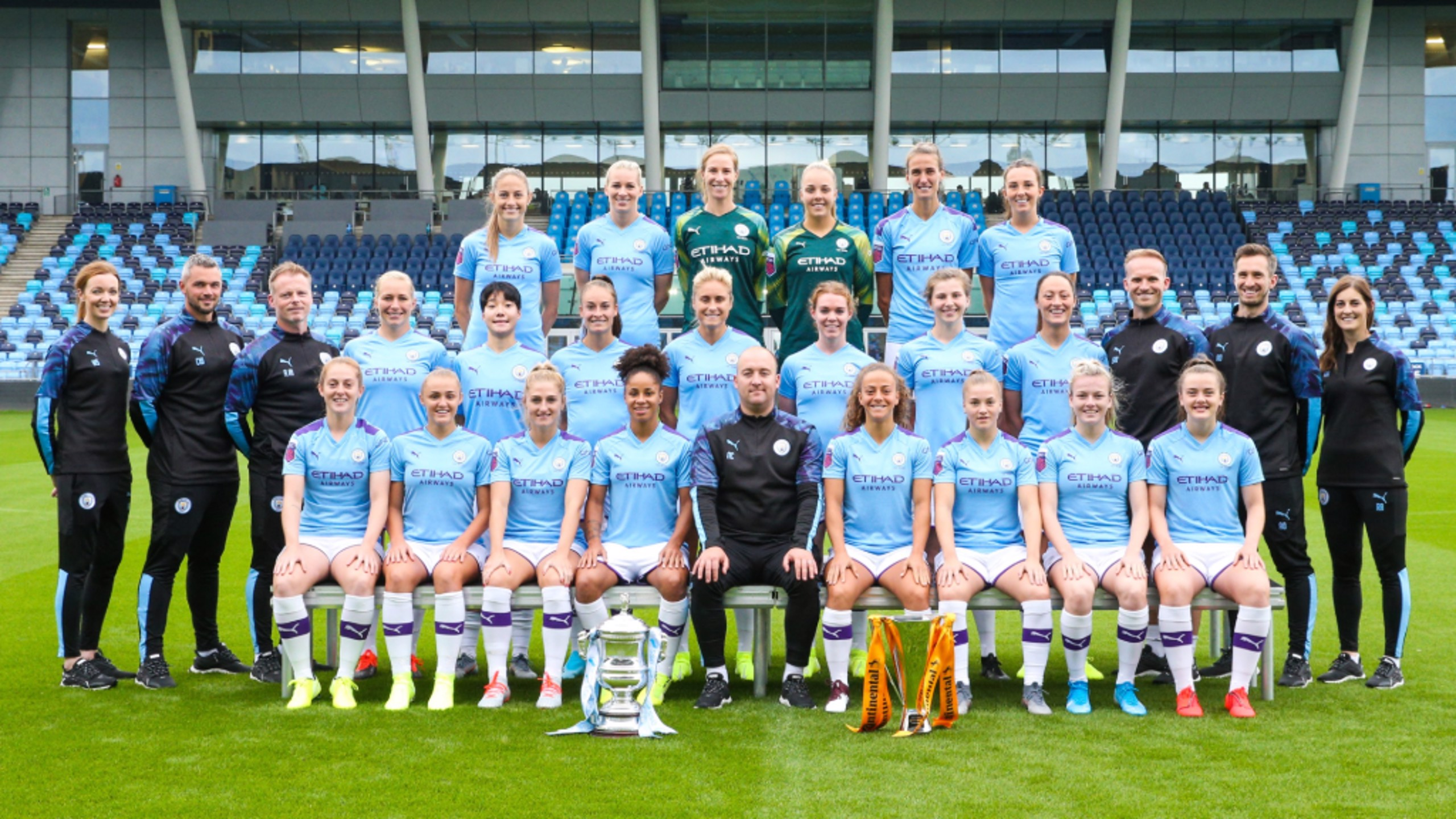 NEW SEASON, NEW FACES, NEW CHALLENGES: City's 2019/20 women's squad