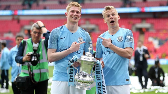 TWINS : Oleksandr has revealed he's often mistaken for Kevin De Bruyne.