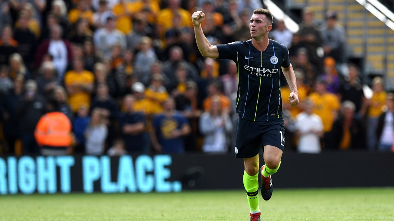 IMPRESSIVE: Aymeric Laporte has begun the campaign well