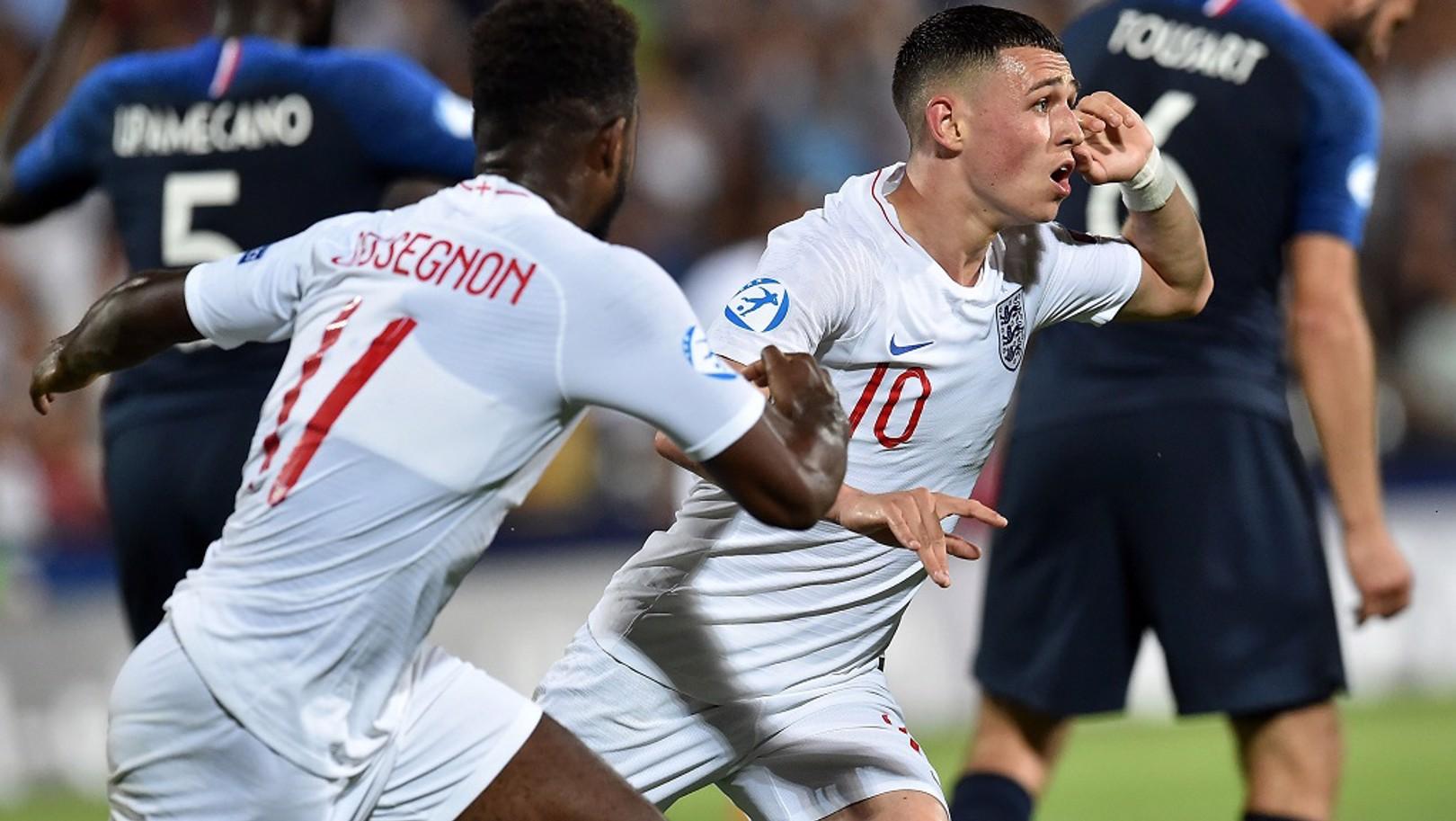 فودين يتألق مع منتخب إنجلترا تحت 21 سنة