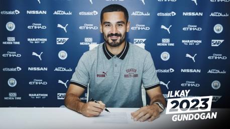 POSITIVE: Ilkay Gundogan has high hopes for the remainder of his City career.
