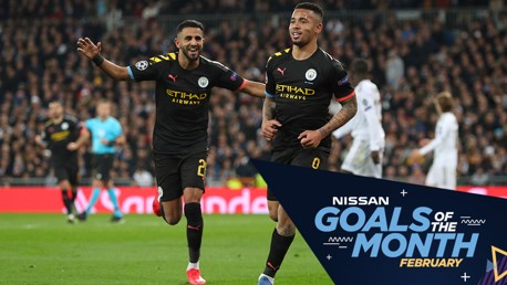 VOTE: Nissan Goal of the Month