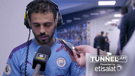 TUNNEL CAM: Behind-the-scenes as City beat Watford 8-0.