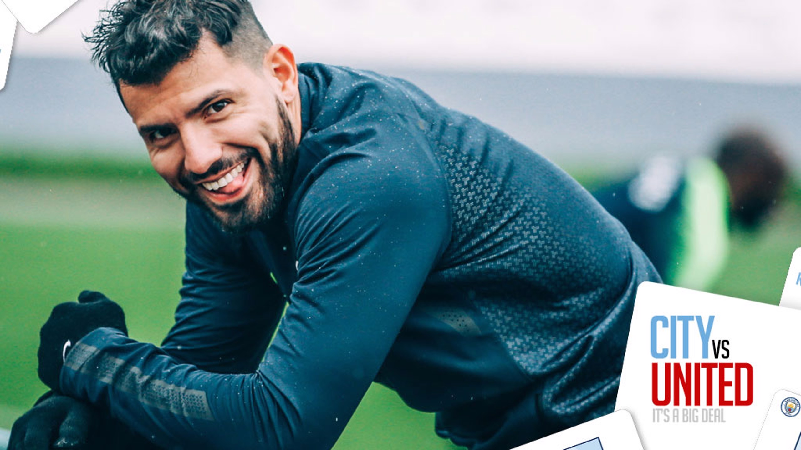 DERBY FOCUS: City strike ace Sergio Aguero