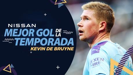 De Bruyne, ganador del premio Nissan al Mejor Gol de la Temporada