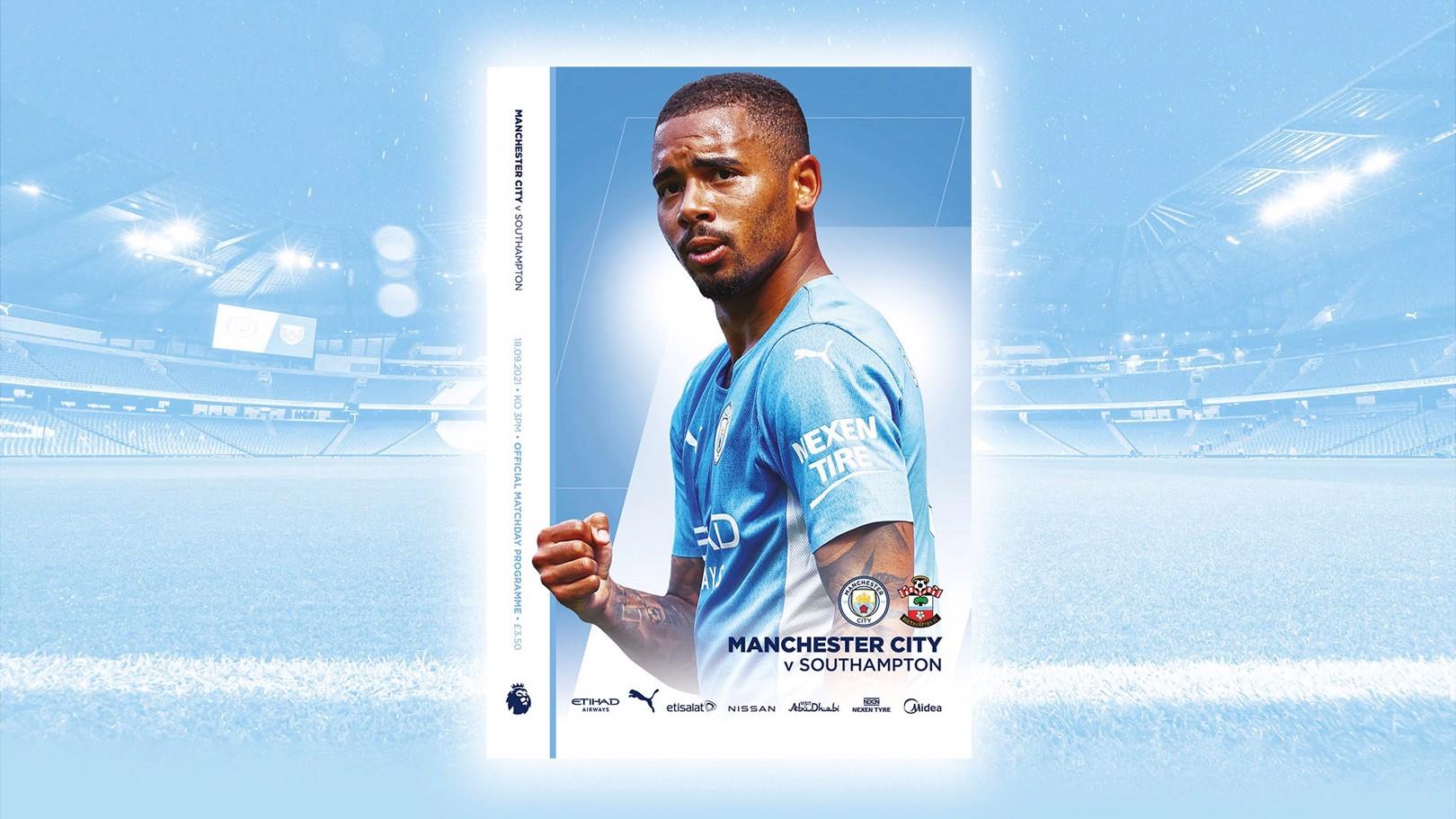 Southampton Matchday Programme – Order Now