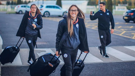 CROSSING THE OCEAN: Janine Beckie is raring to go!
