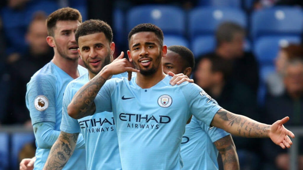 DONE DEAL : Gabriel Jesus seals all three points for City at Selhurst Park.