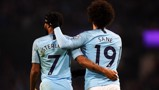 WINGING IN: Raheem and Leroy - a full-back's twin nightmare!