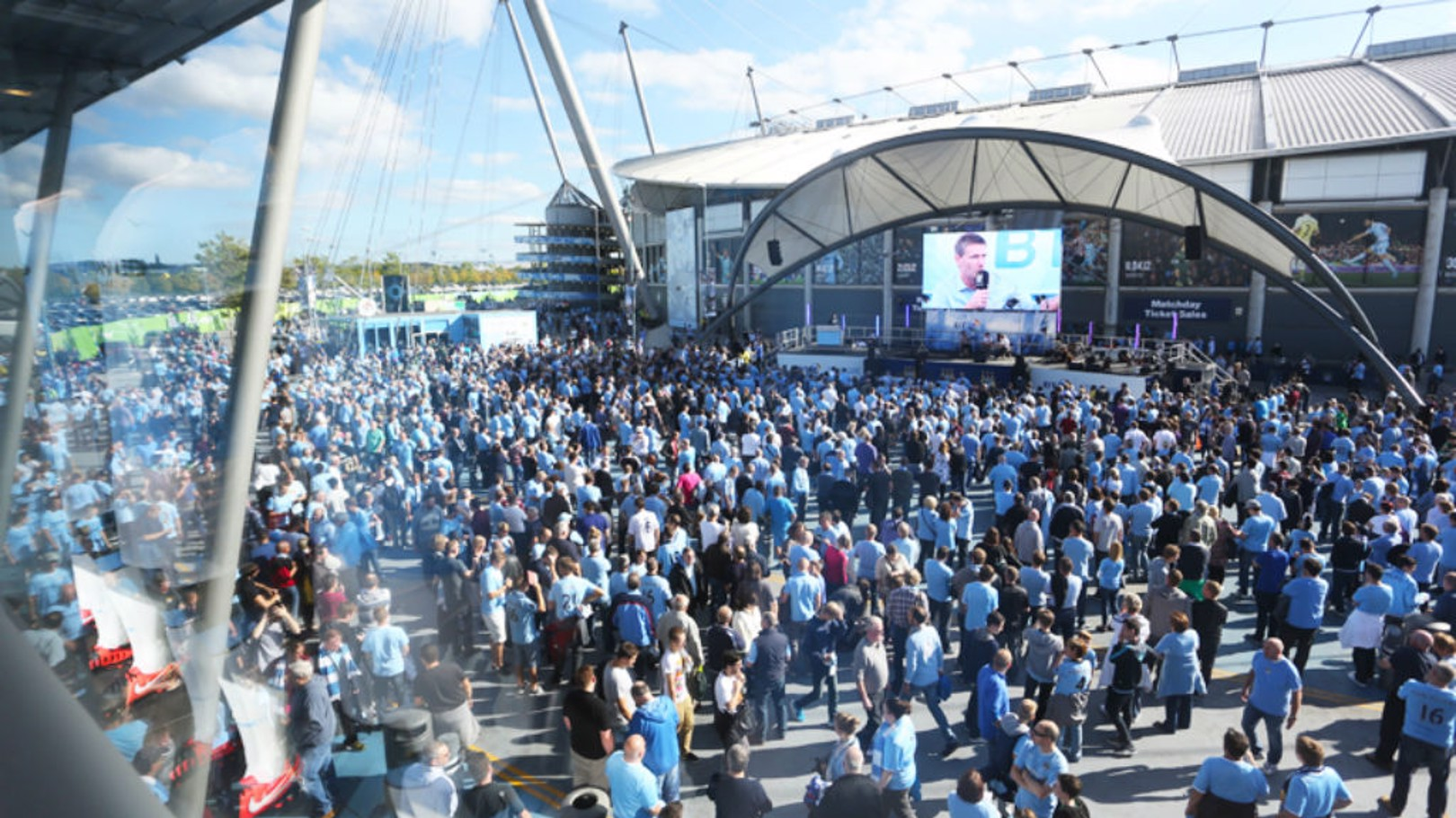 What's on at City Square before City v Villa?