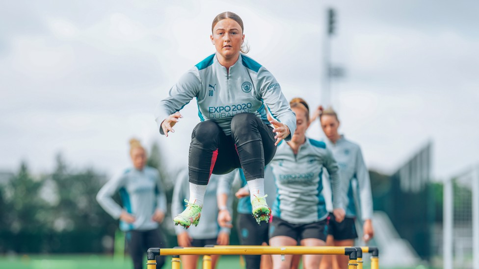 RUBY BLUE : Will 18-year-old Ruby Mace earn her first minutes in City blue?