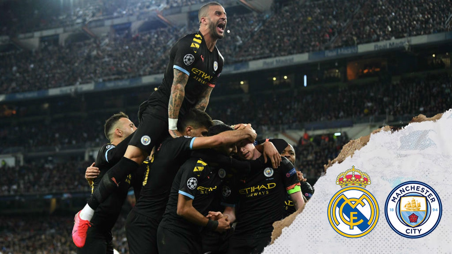 City produce stunning comeback to beat Real Madrid