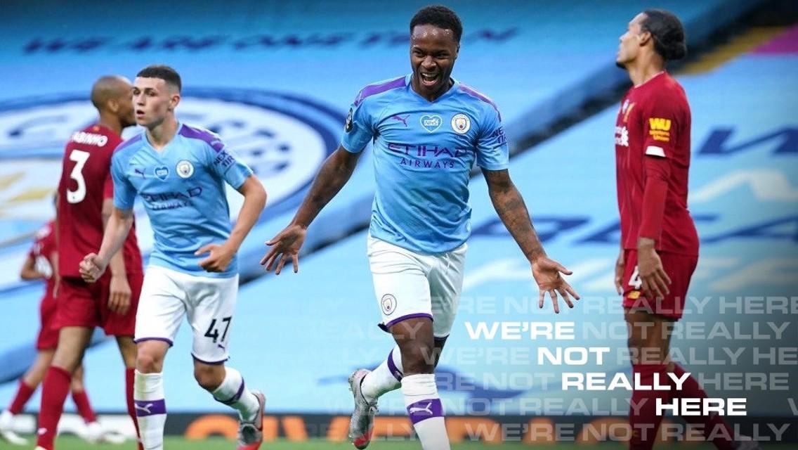 City 4-0 Liverpool: Cuplikan Singkat