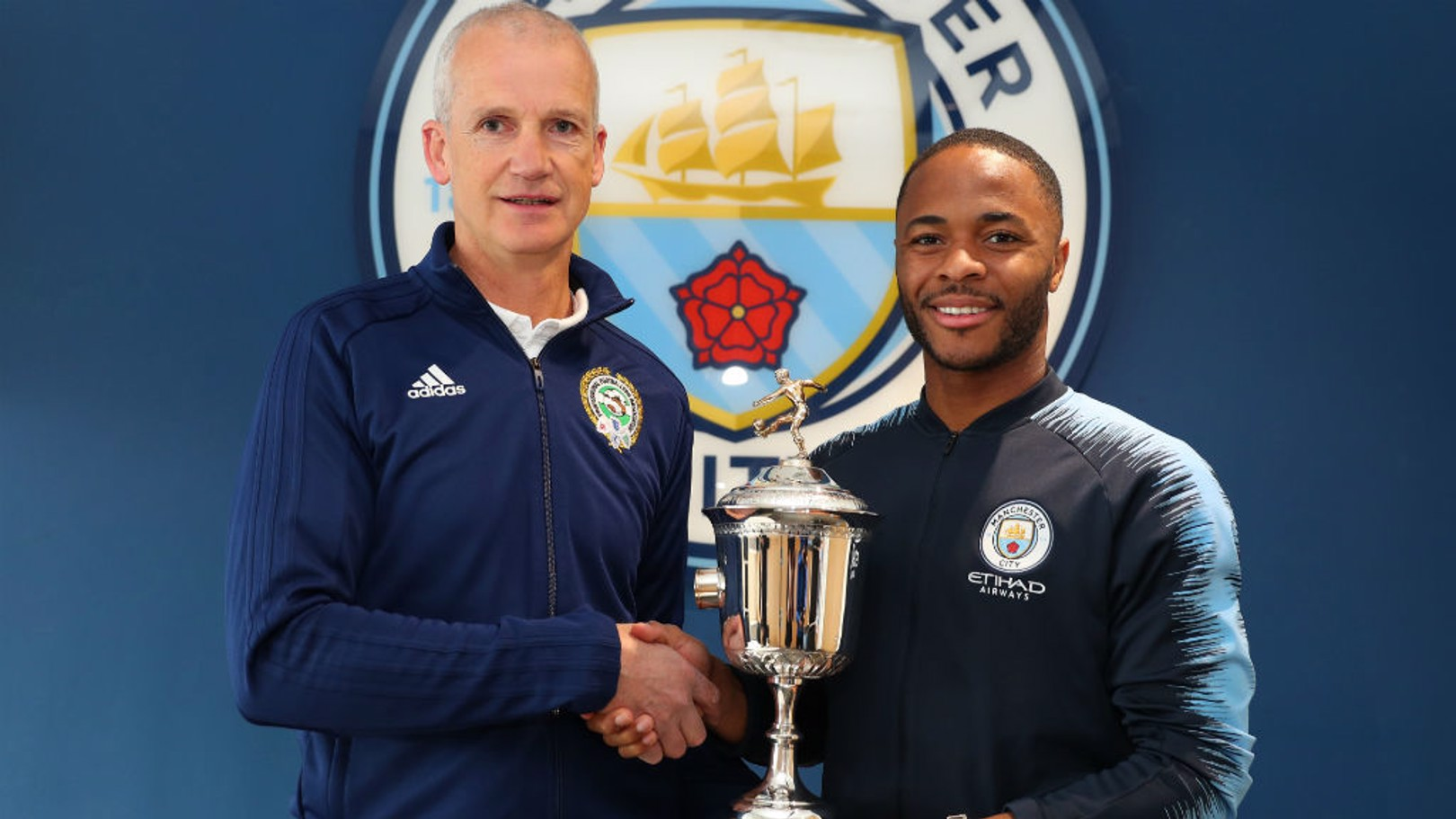 PFA AWARDS: Raheem Sterling won this year's Young Player of the Year prize