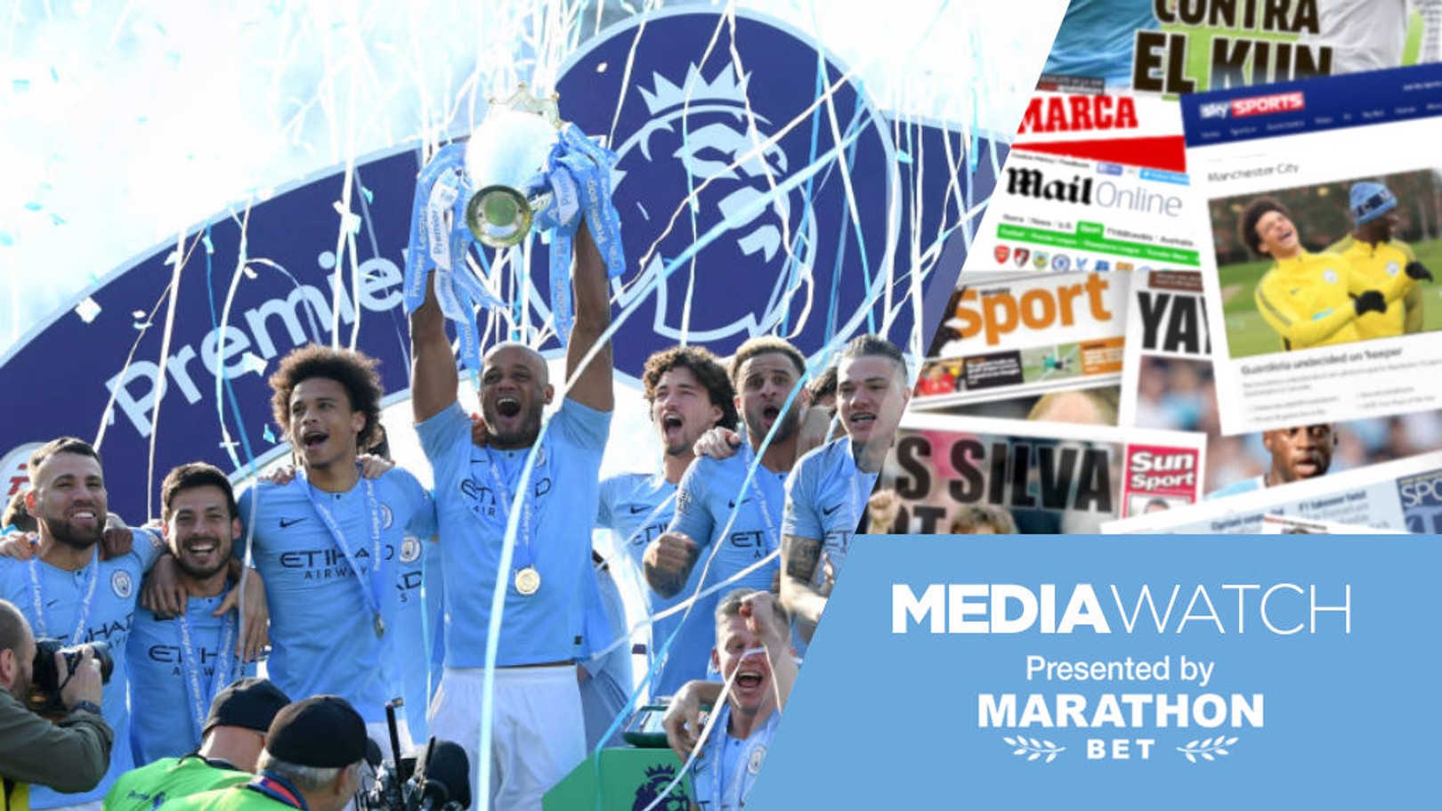 Media Watch: Press hail City's champions