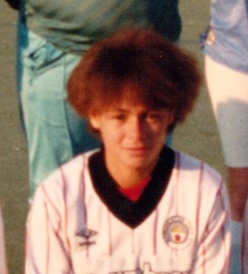 Donna Haynes scored in the first City womens game in December 1988