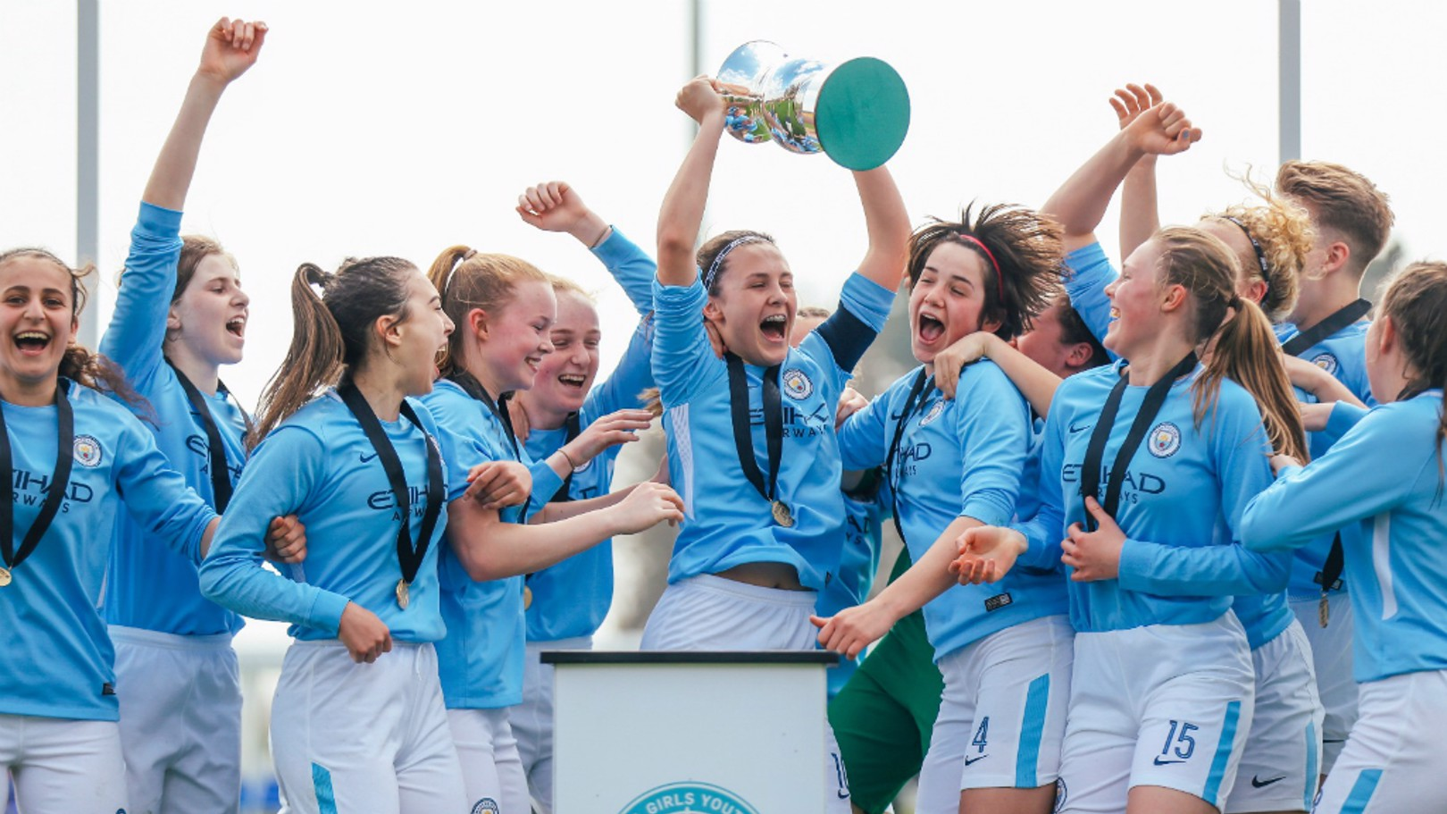 CHAMPIONS: A fantastic day for City's women's academy sides