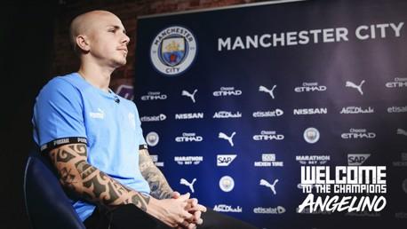 """Angelino : """"Je suis ravi de revenir à City"""""""
