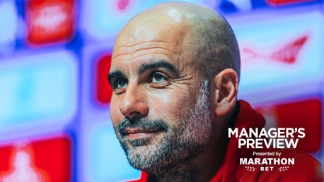 PRE-MATCH: Pep Guardiola addresses the media ahead City's game against Fulham.