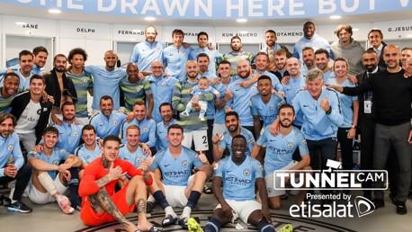 City v Huddersfield: Tunnel Cam