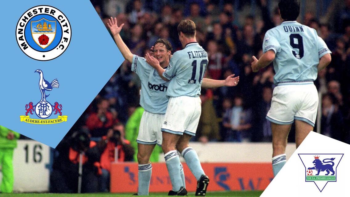 City 5-2 Tottenham Hotspur: Classic Match Replay
