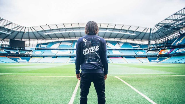 : FIELD OF DREAMS:  Nathan takes the Etihad in...