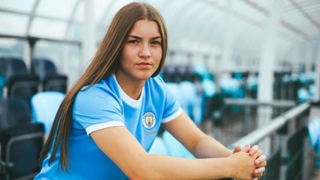 Academy prospect, Jess Park.