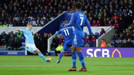 Leicester v City: Top five goals