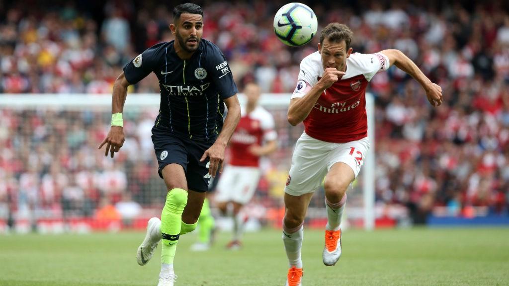 Riyad Mahrez debutó con el City en la Premier League.