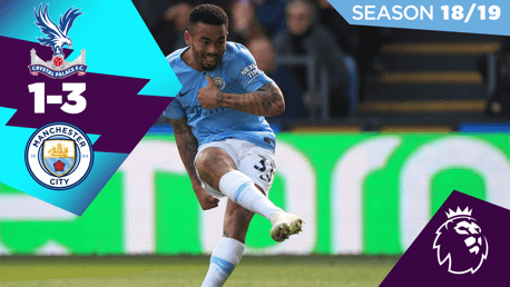 Crystal Palace 1-3 City: Full match replay 2018/19