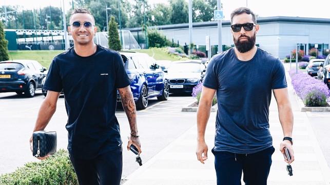 BLUES BROTHERS : Danilo and Claudio Bravo