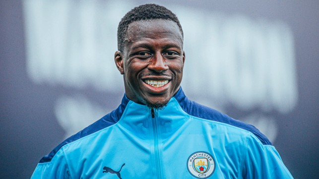UPBEAT : Positive vibes from Benjamin Mendy.